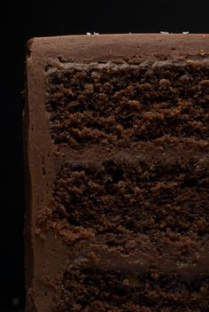 Sweet and Salty Cake is a rich, delicious chocolate cake with salted caramel, chocolate-caramel frosting, and a sprinkling of salt. - Bake or Break