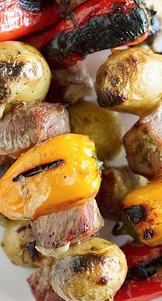Steak and Potato Kabob