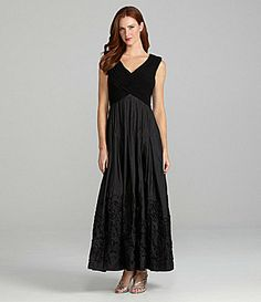 b1a22176c50 Patra Soutache Taffeta Ball Gown  Dillards It looks much lighter in the  store and much. 1920s WeddingWedding ...