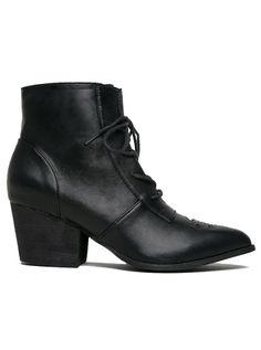"""Women's """"Aura"""" Bootie by YRU (Black) #inkedshop #fashion #obsessed #adorable  #shoes #cute #boots"""