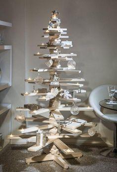 los 2 arboles de navidad mas originales hechos en casa 8