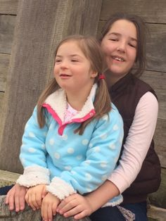 Downs Side Up: Big Sister Mia Describes What a Learning Disability Is for #LDWeek15 #downsyndrome