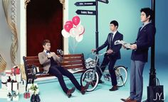 JYJ for Lotte Star Avenue