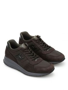HOGAN Hogan Interactive N20 H 3d Suede Trainers. #hogan #shoes #hogan-interactive-n20-h-3d-suede-trainers