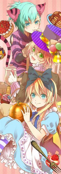 Uta no Prince Sama and Alice in Wonderful.