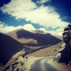 India's 17 Most Dangerous Vacation Destinations Leh Ladakh, Danger Zone, Travel And Leisure, Vacation Destinations, Places To Visit, India, Mountains, World, Rajasthan India
