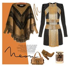 """""""Roma"""" by isamongiello ❤ liked on Polyvore featuring Mode, Balmain, Christian Dior und Terry de Gunzburg"""