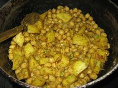 Curry Channa and Aloo (Potato) | Simply Trini Cooking