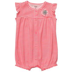 Flutter-Sleeve Creeper | Baby Girl One-Piece