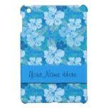 Blue Hibiscus iPad Mini Cover