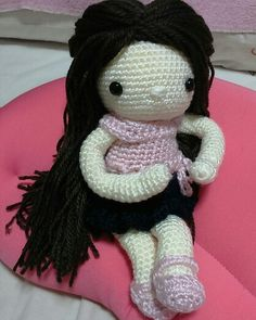 My Crochet Doll : Thinking of you too. ♡ lovely dol