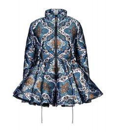 Moncler M by Mary Katrantzou at #ShopBAZAAR - Moncler Jade Caravan Print Down Jacket