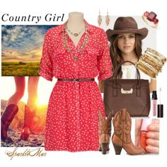 """""""Country Girl"""" by sparklemar on Polyvore"""