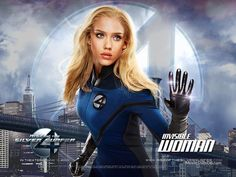 A gallery of Fantastic Four: Rise of the Silver Surfer publicity stills and other photos. Featuring Jessica Alba, Chris Evans, Michael Chiklis, Ioan Gruffudd and others. Jessica Alba Fantastic Four, Fantastic Four Movie, Silver Surfer Wallpaper, Tim Story, Michael Chiklis, Invisible Woman, Vader Star Wars, Marvel Women, Marvel Entertainment