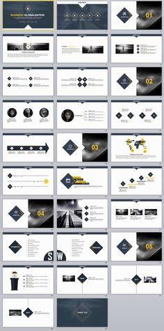29+ White Business PowerPoint Template