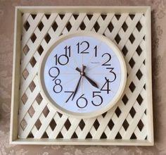 1980's New Haven plastic clock designs are my jam