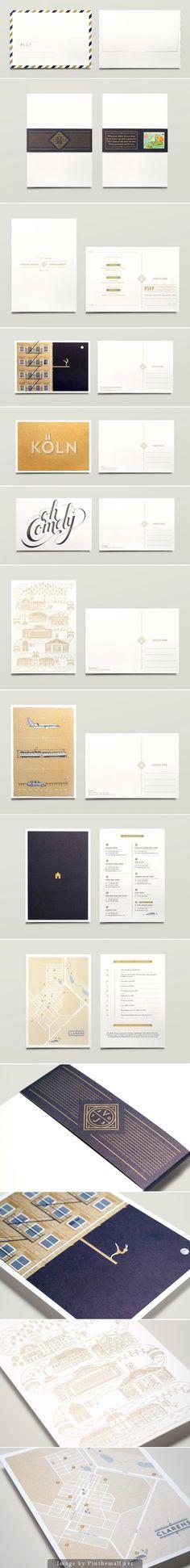Wedding Materials | via RedBird Paperie