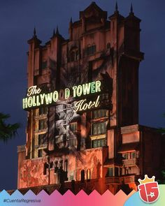 Te vas a animar a subir a la Torre del Terror? #WaltDisneyWorld! #enjoy15 #Transatlantica