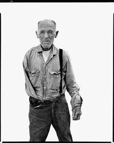 Richard Avedon - Alfred Lester, dryland farmer, Charboneau, North Dakota, August 1982 - In the American West Richard Avedon Portraits, Richard Avedon Photography, Robert Frank, Mario Sorrenti, Ellen Von Unwerth, Henry Miller, Paolo Roversi, Patrick Demarchelier, Tim Walker