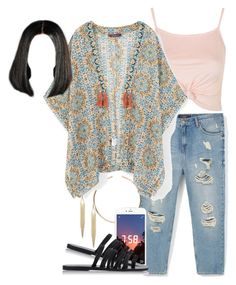 """""""Fun In The Sun"""" by therealne ❤ liked on Polyvore featuring Violeta by Mango, Topshop, ALDO, MANGO and Ancient Greek Sandals"""