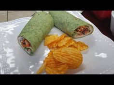 Duckinapot Spinach  Turkey Wrap with Chipotle in Adobo