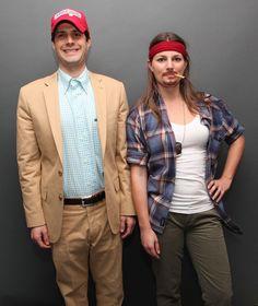 Forrest Gump and Lieutenant Dan: