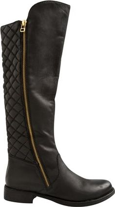 Northside Quilted Tall Boot.  http://www.swell.com/Womens-Boots/STEVE-MADDEN-NORTHSIDE-TALL-BOOT?cs=BL