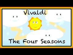 Classical Music for Children: Kids English Educational - Vivaldi Four Seasons ABC 123 - YouTube