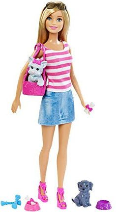 Barbie Doll with Puppy Accessory *** See this great product-affiliate link. #BarbieDollsCollectibles