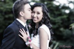 "Cute Prom Photography ""Just a Kiss"""