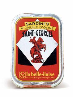 Sardines à l'huile d'olive, La Belle-Iloise, 2,85 euros la boîte de 115g (soit 24,80 euros le kilo).
