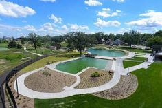 This public pool is completely chlorine-free. It's also the first of its kind in the U.S.--Webber pool Minneapolis MN