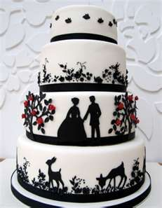 Image Search Results for anniversary cakes black, red, and white - via http://bit.ly/epinner