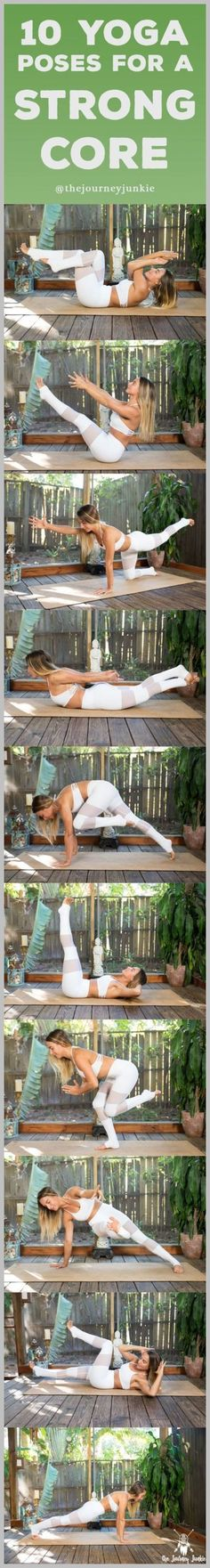 10 Yoga Poses for a Strong Core | Posted By: NewHowToLoseBellyFat.com