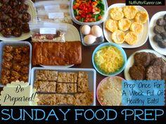 food prep for the week