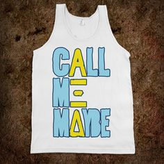 summer staple. AXiD Call Me Maybe Tank