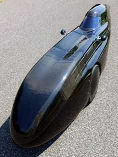 WAW 291 velomobile with black-carbon finish