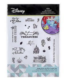 Love this Disney Princess Ariel Stamp Set on #zulily! #zulilyfinds