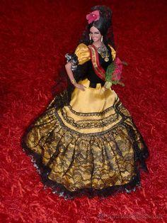 Spanish Dress, Spanish Dancer, American Baby Doll, Dancing Dolls, Flamenco Dancers, Little Ballerina, Fairy Dolls, Dolls Dolls, Embellished Dress