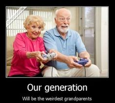 Video gamers are considered to be only young people. That is not necessarily true, gamers are of all ages. Funny Quotes, Funny Memes, Jokes, Motivational Quotes, Videogames, Master System, Funny Captions, Jolie Photo, Just For Laughs