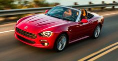 2018 Fiat 124 Spider Receives New Colors And Trims #FCA #Fiat