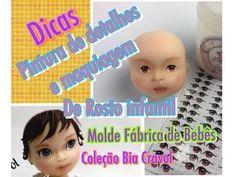 Pintura dos Detalhes + Maquiagem para Rosto Infantil - Biscuit + Moldes da Nova Coleção - YouTube