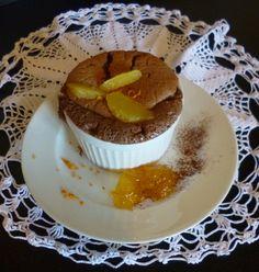 J4 --> Soufflé chocolat-orange #Avent2014 #Noel