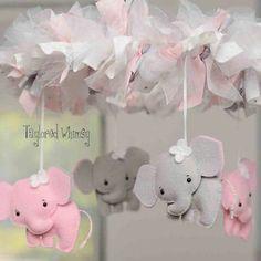 Mobile de elefantes
