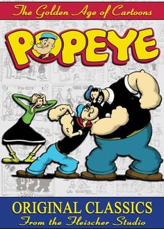 Popeye: Original Classics from the Fleischer Studio Mackinac Media  (Mr. W & DS)