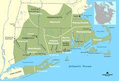 Tribal Territories Southern New England - Massachusetts Bay Colony - Wikipedia, the free encyclopedia