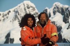 """Debbie Shapiro, who explored Antarctica with her husband, living there by themselves for 9 months, talks about what it takes for a couple to get along when cooped up for a long time together. """"Two simple examples of our interaction - firstly, remaining sensitive to each other's moods and concerns, never belittling."""""""