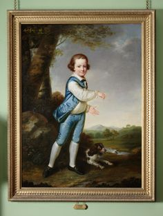 George Harry Grey, 6th Earl of Stamford (1765-1845), as a young boy James Shaw (b.Wolverhampton, fl.1776 - 1787)