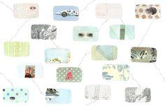Lianne Harrison Dreams Pattern Illustration Collage