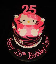 Sassy Hello Kitty Cake